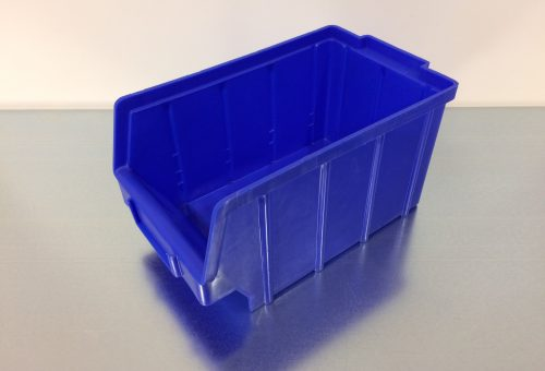 Magazijnbak A3 blauw